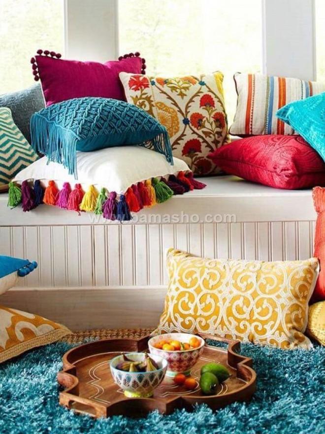 Trang trí phòng khách với gối tựa lưng bằng len siêu đẹp - Ảnh 13.