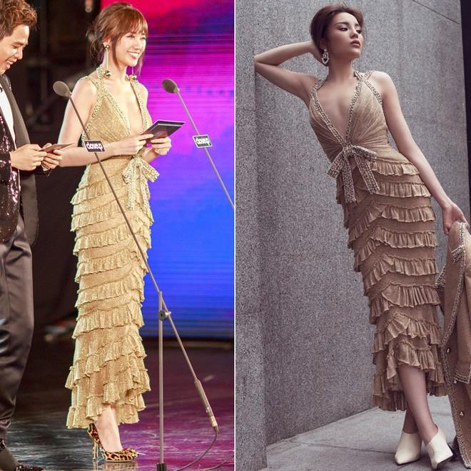 Tung bộ ảnh mới, Kỳ Duyên vô tình tạo nên màn tranh đấu váy áo với cả Tóc Tiên và Hari Won - Ảnh 13.
