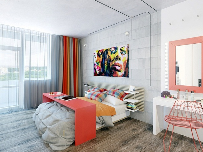Không gian đầy sức sống của những phòng ngủ không bao giờ lỗi mốt - Ảnh 16.