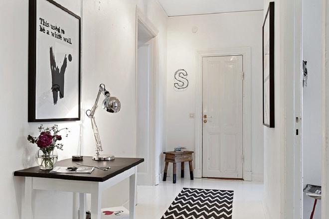 Những thiết kế sảnh căn hộ đậm màu phong cách Bắc Âu - Ảnh 16.