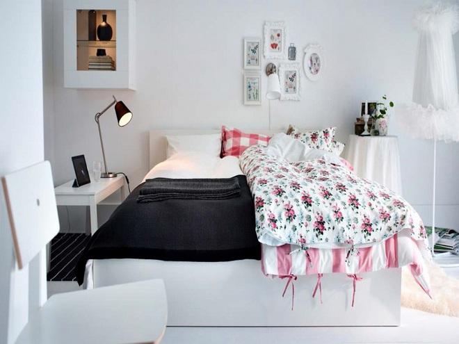 Không gian đầy sức sống của những phòng ngủ không bao giờ lỗi mốt - Ảnh 17.