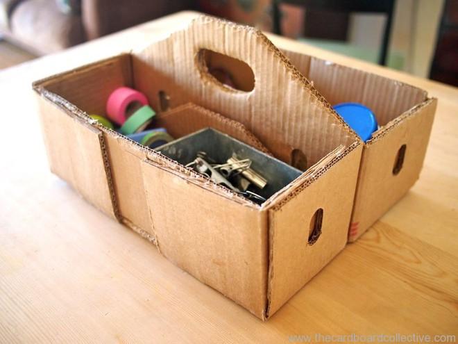 Bạn sẽ không bao giờ vứt thùng các tông cũ nữa sau khi biết 15 cách tái chế cực hay này - Ảnh 17.