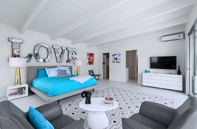 Thiết kế phòng ngủ theo phong cách Midcentury ấm áp đón đông về - Ảnh 17.
