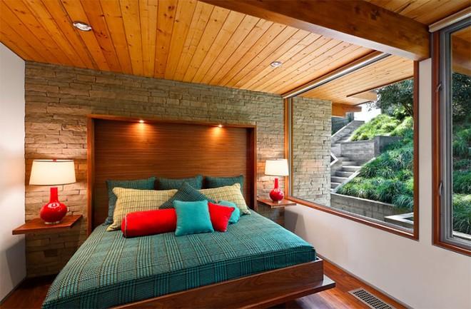 Thiết kế phòng ngủ theo phong cách Midcentury ấm áp đón đông về - Ảnh 20.