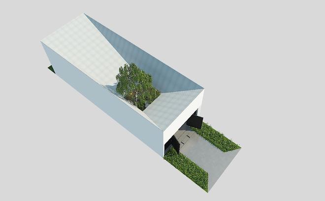 Với chi phí chưa đến 190 triệu, KTS đã hoàn thành căn nhà cấp 4 rộng 52m² với những công năng bất ngờ - Ảnh 2.