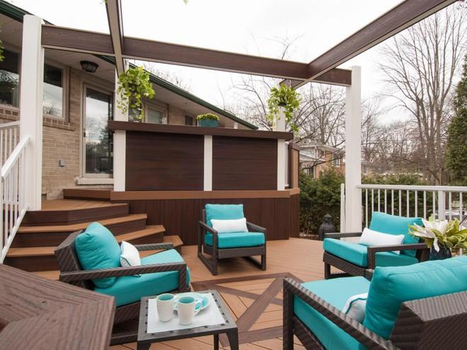 Những ý tưởng tuyệt vời cho việc cải tạo hiên nhà và sân vườn - Ảnh 3.