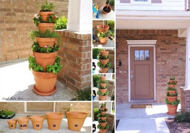 10 ý tưởng trồng cây thẳng đứng tiết kiệm không gian cho nhà chật - Ảnh 3.