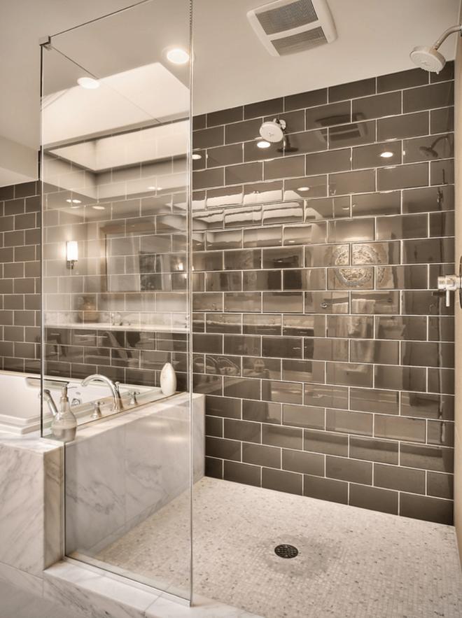 6 cách chọn lựa chất liệu lát phòng tắm giúp tăng hiệu ứng thị giác - Ảnh 3.
