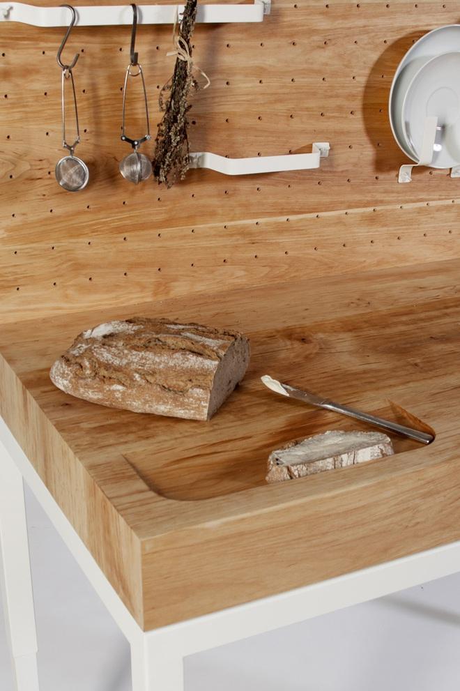 Tủ bếp thông minh - giải pháp hoàn hảo cho những căn bếp chật - Ảnh 3.