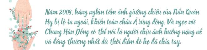 """Chung Hân Đồng: """"lấm bùn"""" từ scandal ảnh nóng, cuộc đời mãi lận đận chỉ vì một chữ tình - ảnh 3"""