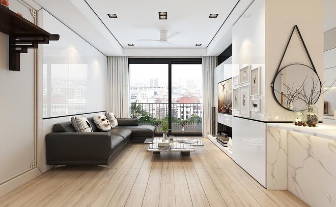 Tư vấn bố trí nội thất cho căn hộ 64m² từ vô số những nhược điểm thành không gian sống đáng mơ ước - Ảnh 3.
