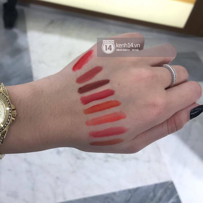 Clip nóng bỏng tay: Swatch cận cảnh loạt màu son 3CE Velvet Lip Tint đang gây sốt - Ảnh 4.