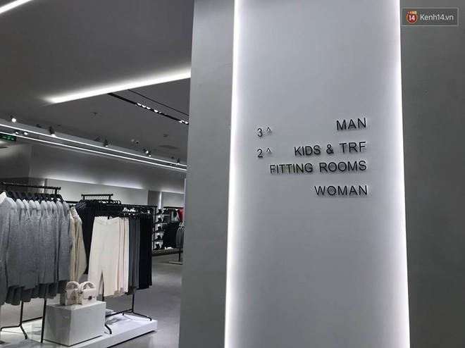 HOT: Tận mặt ngắm trọn 3 tầng của store Zara Hà Nội, to và sáng nhất phố Bà Triệu - Ảnh 3.
