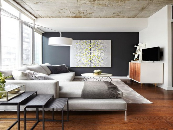 Làm thế nào để bài trí phòng khách nhỏ vỏn vẹn 10m² thành không gian đẹp? - Ảnh 3.