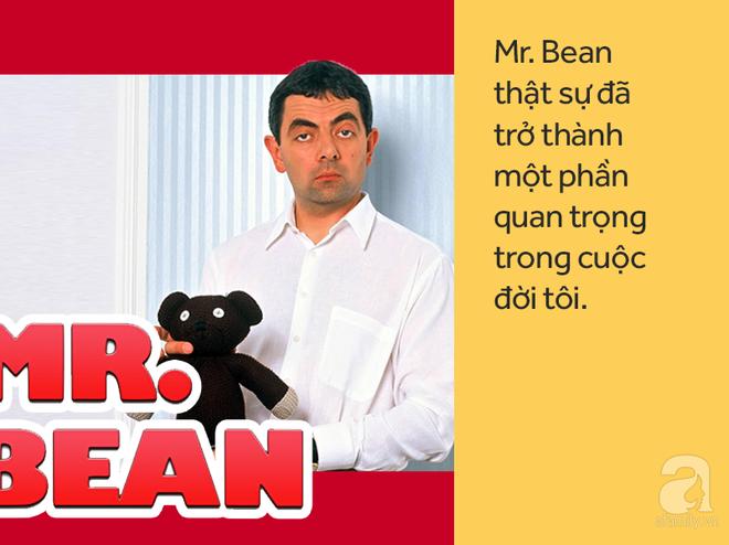 Vua hài Mr. Bean: Từ gã đàn ông bị miệt thị vì nói lắp đến siêu sao giàu có chuẩn bị đón con thứ 3 - Ảnh 2.