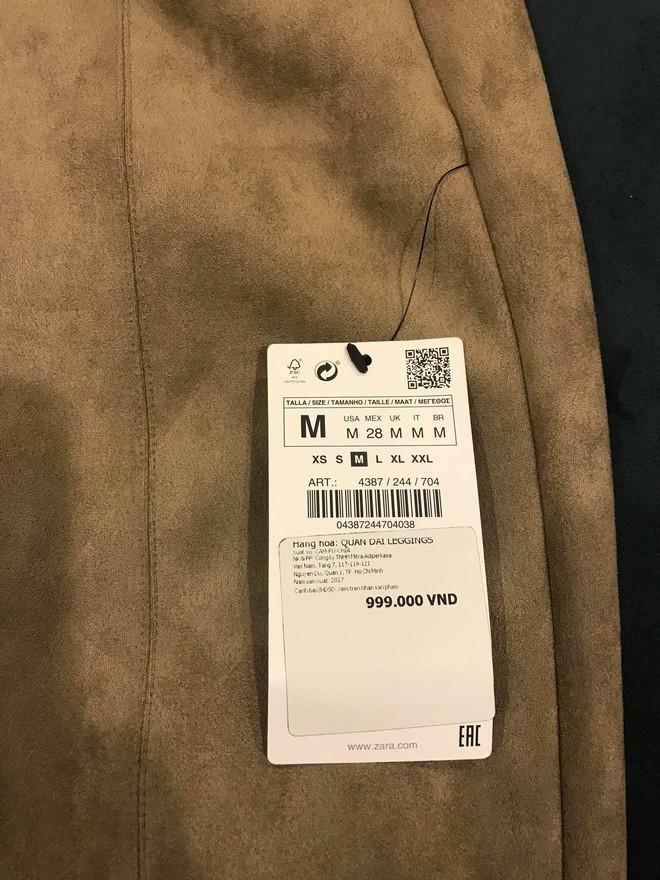Không được đổi quần legging vừa mua, khách hàng tố Zara Hà Nội lừa đảo - Ảnh 3.