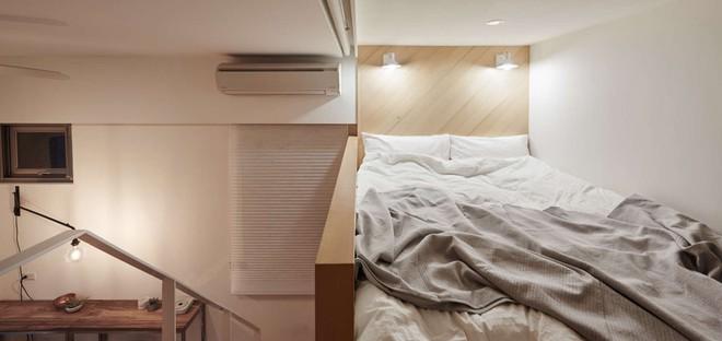 Căn hộ có gác xép có tổng diện tích chỉ 22m² đẹp không kém những căn hộ sang chảnh - Ảnh 3.
