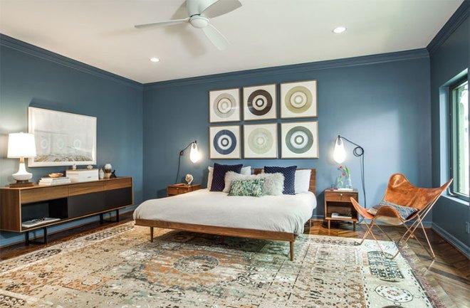 Thiết kế phòng ngủ theo phong cách Midcentury ấm áp đón đông về - Ảnh 21.