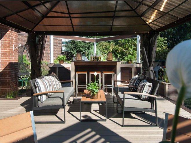 Những ý tưởng tuyệt vời cho việc cải tạo hiên nhà và sân vườn - Ảnh 22.