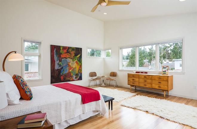 Thiết kế phòng ngủ theo phong cách Midcentury ấm áp đón đông về - Ảnh 22.