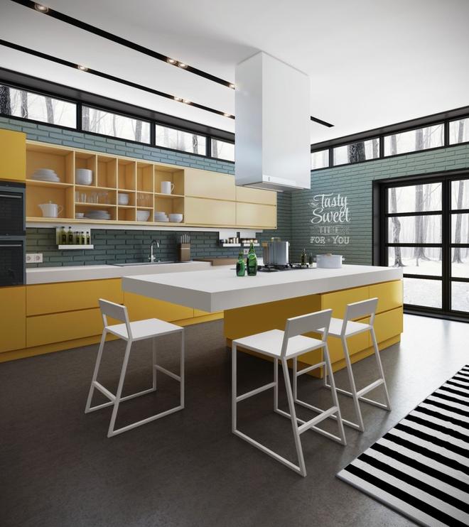 13 mẫu phòng bếp với thiết kế khiến bất kỳ ai cũng ghen tỵ và ao ước - Ảnh 20.