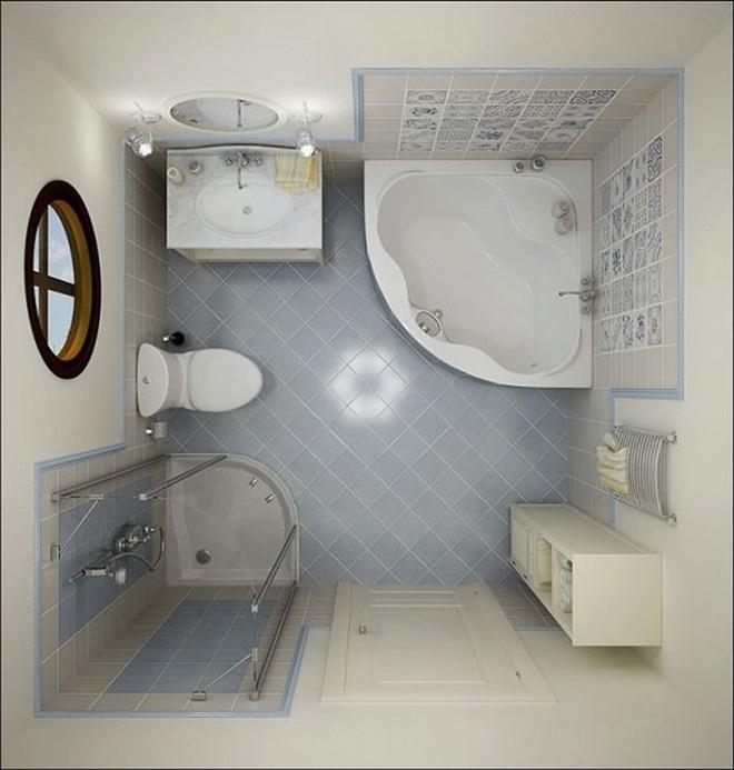 Những lời khuyên thông minh cho nhà tắm diện tích nhỏ thêm tiện dụng  - Ảnh 4.