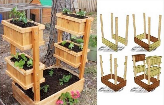 10 ý tưởng trồng cây thẳng đứng tiết kiệm không gian cho nhà chật - Ảnh 4.