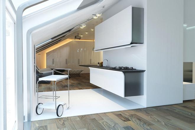 13 mẫu phòng bếp với thiết kế khiến bất kỳ ai cũng ghen tỵ và ao ước - Ảnh 4.
