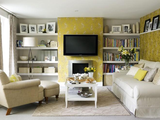 Làm sống lại không gian cũ kỹ bằng cách trang trí tường nhà đơn giản mà tiết kiệm - Ảnh 4.