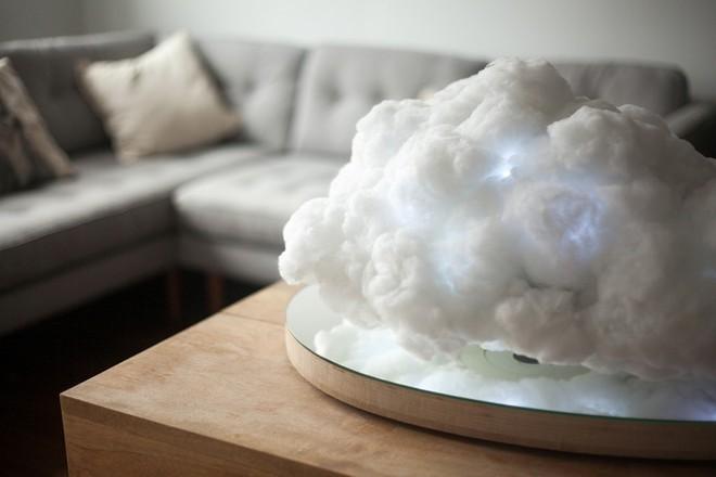 Video: Trang trí phòng khách bay bổng cùng những đám mây nhân tạo   - Ảnh 5.