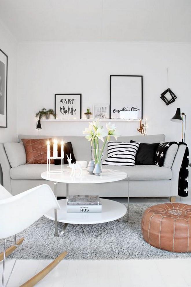 Làm thế nào để bài trí phòng khách nhỏ vỏn vẹn 10m² thành không gian đẹp? - Ảnh 4.