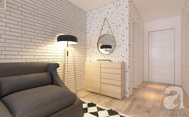 Tư vấn bố trí nội thất căn hộ 67m² với tổng chi phí chưa đến 80 triệu cho chàng trai 23 tuổi độc thân - Ảnh 5.