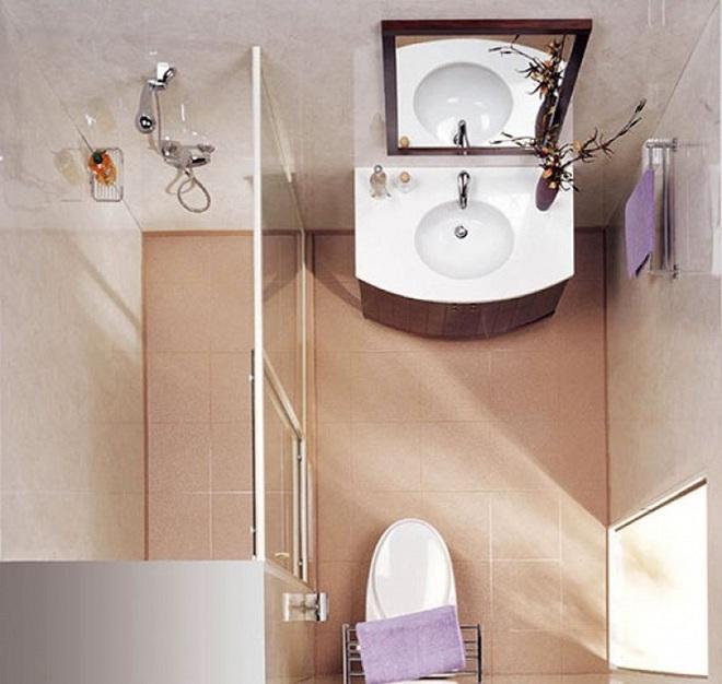 Những lời khuyên thông minh cho nhà tắm diện tích nhỏ thêm tiện dụng  - Ảnh 5.