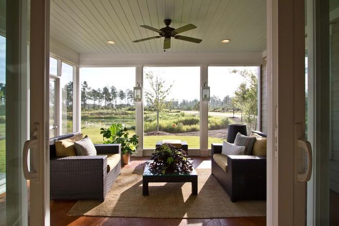 13 ý tưởng biến hiên nhà trở thành không gian nghỉ ngơi đắt giá - Ảnh 5.