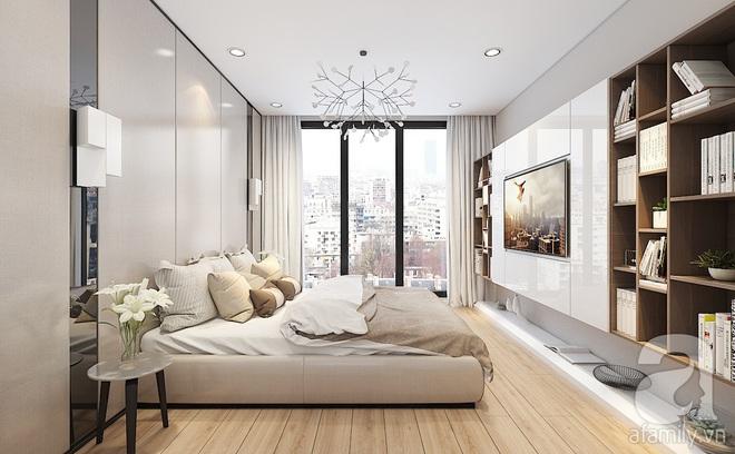 Với 240 triệu, KTS đã cải tạo căn hộ 110m2 từ chỗ có mặt bằng lồi lõm trở nên thoáng sáng đến bất ngờ - Ảnh 7.