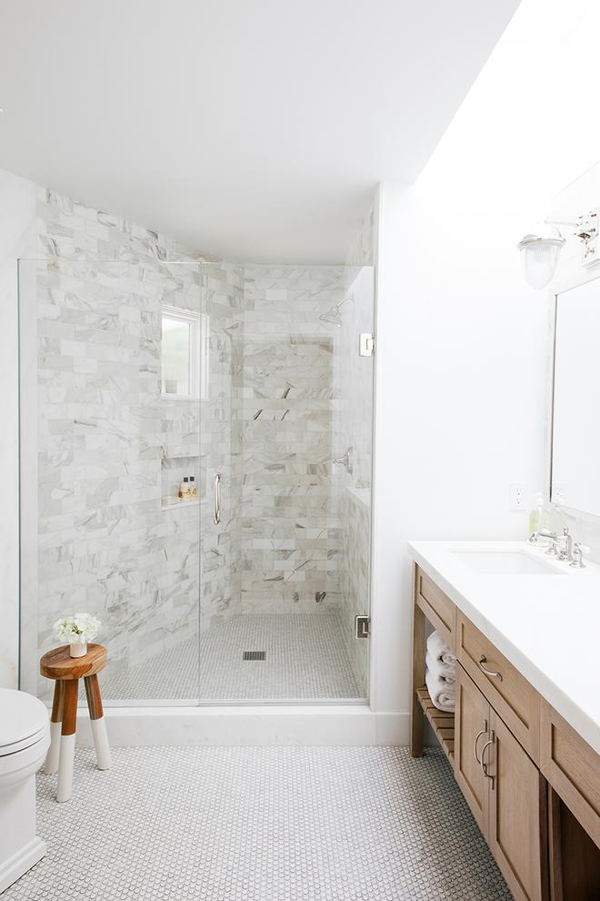 6 cách chọn lựa chất liệu lát phòng tắm giúp tăng hiệu ứng thị giác - Ảnh 5.
