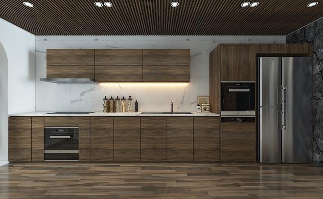 Tư vấn bố trí nội thất cho căn hộ 64m² từ vô số những nhược điểm thành không gian sống đáng mơ ước - Ảnh 5.