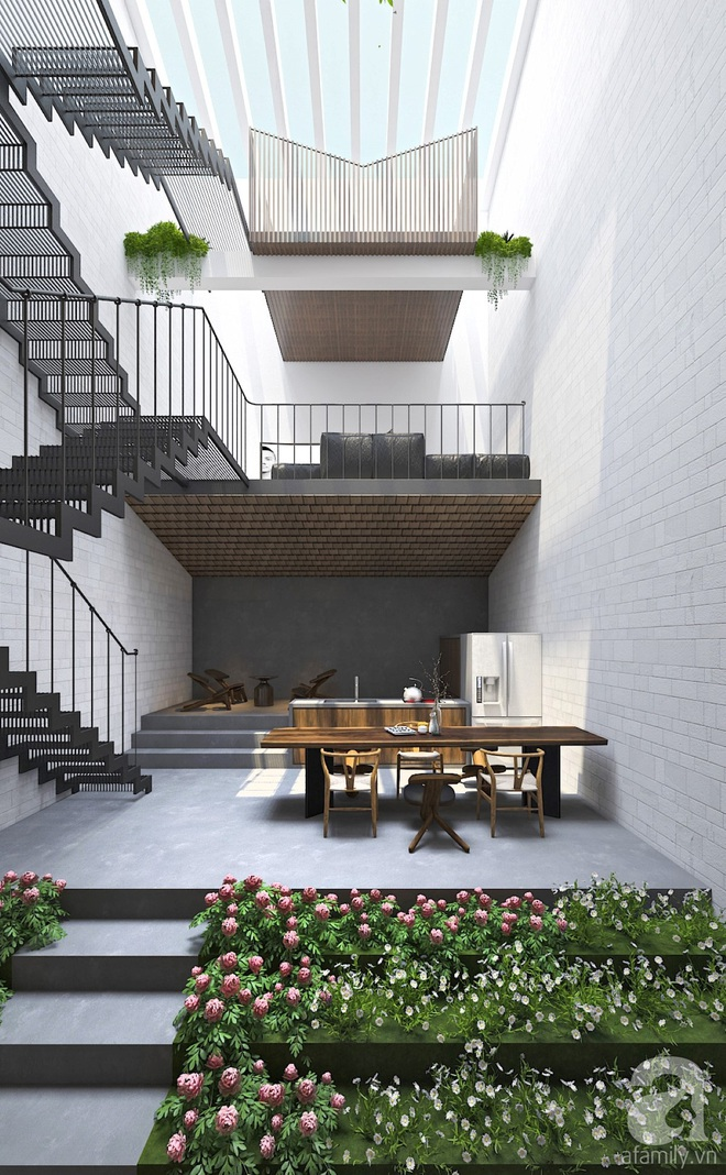 Với 1.5 tỷ đồng, KTS đã hoàn thiện căn nhà ống 3.5 tầng với tổng diện tích gần 300m² - Ảnh 10.