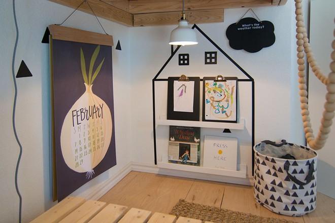 Trang trí đơn giản nhưng siêu đáng yêu, đây chính là phòng ngủ khiến mọi đứa trẻ mê tít - Ảnh 6.