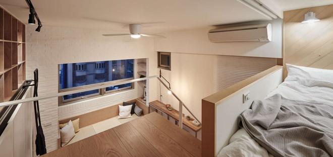 Căn hộ có gác xép có tổng diện tích chỉ 22m² đẹp không kém những căn hộ sang chảnh - Ảnh 5.