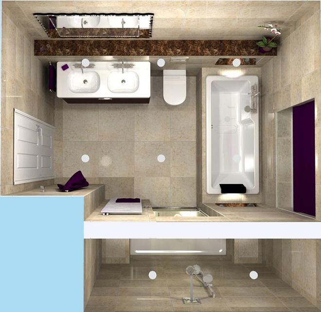 Những lời khuyên thông minh cho nhà tắm diện tích nhỏ thêm tiện dụng  - Ảnh 6.