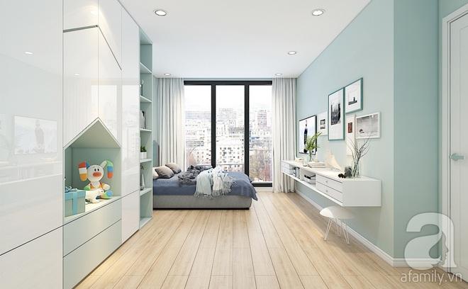 Với 240 triệu, KTS đã cải tạo căn hộ 110m2 từ chỗ có mặt bằng lồi lõm trở nên thoáng sáng đến bất ngờ - Ảnh 9.