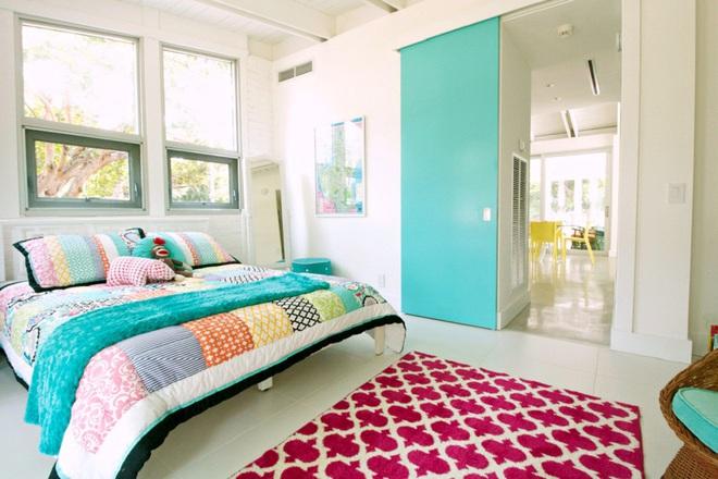 Không gian đầy sức sống của những phòng ngủ không bao giờ lỗi mốt - Ảnh 6.