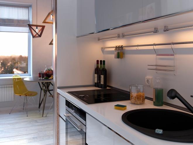 Ấn tượng với thiết kế của căn hộ vỏn vẹn 30m² có những gam màu trang trí vô cùng bắt mắt - Ảnh 6.