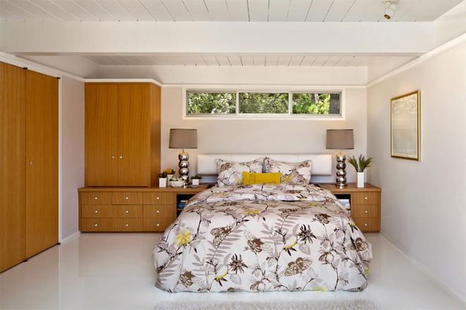 Thiết kế phòng ngủ theo phong cách Midcentury ấm áp đón đông về - Ảnh 6.