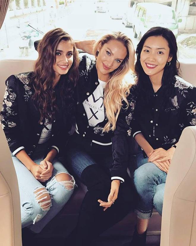 Dàn mẫu Victorias Secret xinh phát ngất trong buổi họp báo chính thức tại Thượng Hải - Ảnh 6.