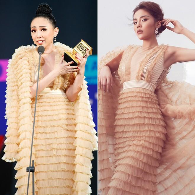 Tung bộ ảnh mới, Kỳ Duyên vô tình tạo nên màn tranh đấu váy áo với cả Tóc Tiên và Hari Won - Ảnh 6.