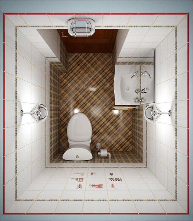 Những lời khuyên thông minh cho nhà tắm diện tích nhỏ thêm tiện dụng  - Ảnh 7.