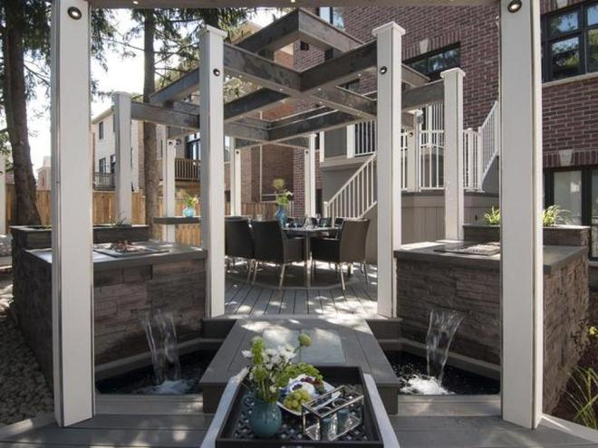 Những ý tưởng tuyệt vời cho việc cải tạo hiên nhà và sân vườn - Ảnh 7.