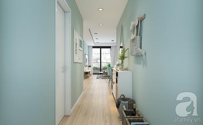 Với 240 triệu, KTS đã cải tạo căn hộ 110m2 từ chỗ có mặt bằng lồi lõm trở nên thoáng sáng đến bất ngờ - Ảnh 3.